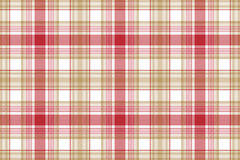 Beige red white fabric texture seamless background Royalty Free Stock Photo