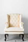 Beige retro chair Stock Image
