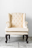 Beige retro chair Stock Images
