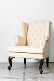 Beige retro chair Royalty Free Stock Photography