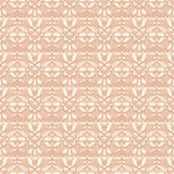 Beige retro flowers. Seamless beige pattern with antique flowers Stock Images