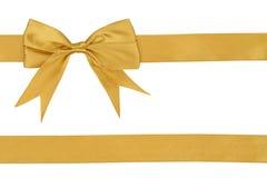 Beige ribbon Royalty Free Stock Image