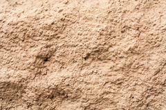 Beige rocky wall. background, texture. Stock Photo