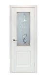 Beige room door isolated Stock Image