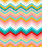 Beige, rosado, rojo y galón de la turquesa inconsútil libre illustration