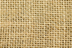 Beige sackcloth texture Stock Photos