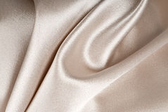 Beige Satin Background Royalty Free Stock Images