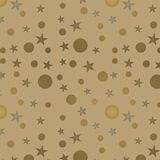 Seamless background with stars royalty free stock photography