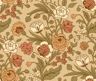 Beige seamless pattern Stock Image