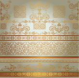 Beige seamless pattern Royalty Free Stock Photo