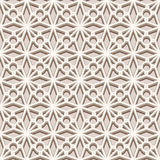Beige seamless pattern, lace texture. Vintage beige ornament, lace texture, seamless pattern in neutral color Stock Photo