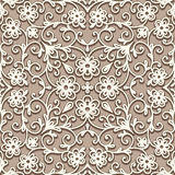 Beige seamless pattern Stock Photography