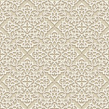 Beige seamless pattern Stock Images