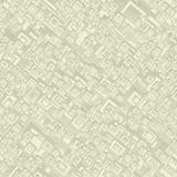 Beige seamless rectangle pattern Stock Photos
