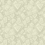 Beige seamless rectangle pattern background Royalty Free Stock Photos