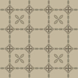 Beige seamless vector pattern Royalty Free Stock Photos