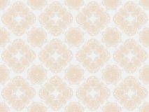 Beige seamless wallpaper pattern Royalty Free Stock Image