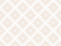 Beige seamless wallpaper pattern Royalty Free Stock Photography