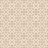 Beige Seamless Wallpaper Pattern Royalty Free Stock Image
