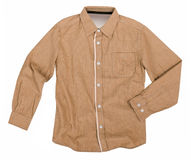 Beige shirt Royalty Free Stock Images