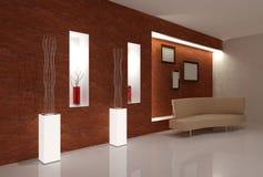 Beige Sofa Stock Photo
