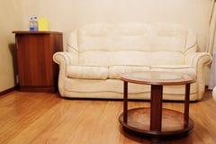 Beige Sofa Stockbild