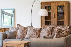 Beige sofa Stock Photos