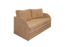Beige sofa Royalty Free Stock Images