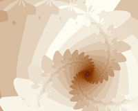 Beige Spiral Royalty Free Stock Images