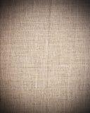 Beige stof als uitstekende textuur of achtergrond royalty-vrije illustratie