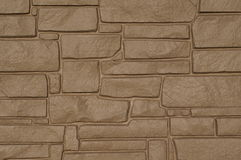 Beige stone building Stock Images