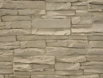 Beige stone wall texture background Stock Photo