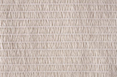 Beige striped fabric Stock Photography