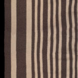 Beige striped fabric for jackets Stock Photos