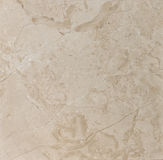 Beige strukturierter Marmor Lizenzfreies Stockbild