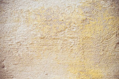 Beige stucco wall Stock Images