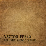 Beige suede background Royalty Free Stock Photo