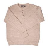 Beige sweater Stock Photo