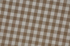 Beige tablecloth grid Stock Photos