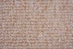 Beige tapijt Royalty-vrije Stock Fotografie