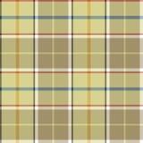 Beige tartan fabric texture seamless pattern Stock Images