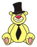 Beige teddy bear groom Royalty Free Stock Photo
