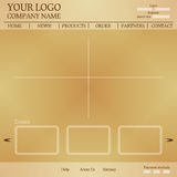 Beige template Royalty Free Stock Photography