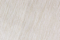 The beige texture cloth. The ribbed canvas. Stock Images