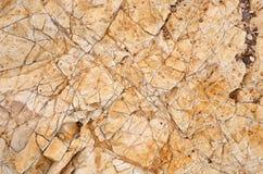 Beige - texture orange de roche, plan rapproché de photo Photo stock