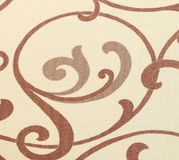 Beige texture with ornament. Royalty Free Stock Photo
