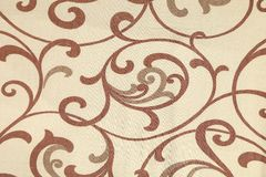 Beige texture with ornament. Stock Images