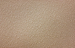 Beige textured fabric Stock Image
