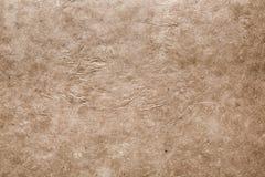 Beige textured paper background Stock Image