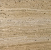 Beige textured travertine Royalty Free Stock Photo